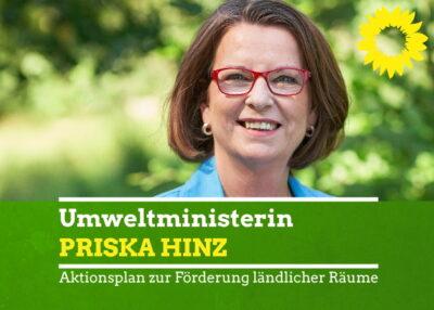Priska Hinz besucht den Grünen Stammtisch Beibergemünd